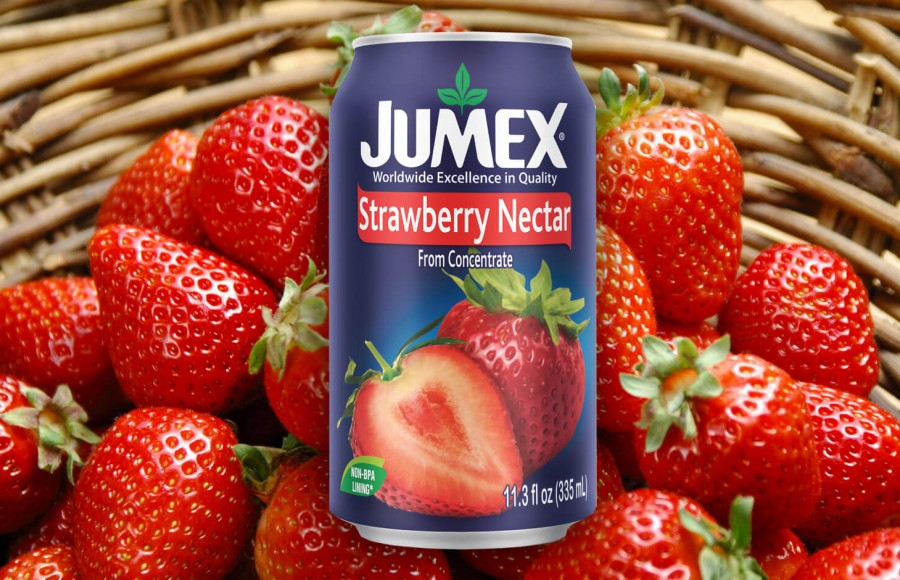 НОВИНКА: JUMEX «STRAWBERRY NECTAR» в объёме: 335 мл